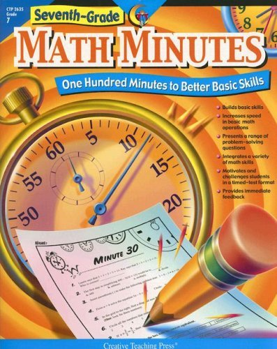 Seventh Grade Math Minutes by Doug Stoffel (2007-11-09) Paperback