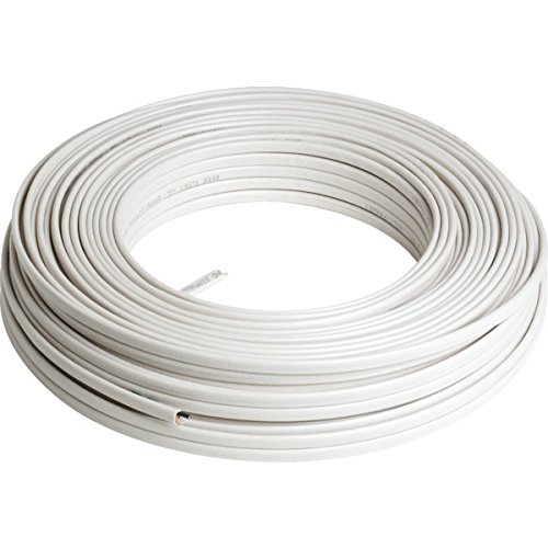 250' 14/2 Romex Building Solid Core Copper Wire - 15 Amp, 120 Volt Maximum Nonmetallic Sheathed Cable - Type NM-B With #14 Ground 600 Volt Rated Typical Applications Include Light Switches, Washers, Refrigerators, Lighting Fixtures ()