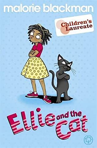 book cover of Ellie, and the Cat!