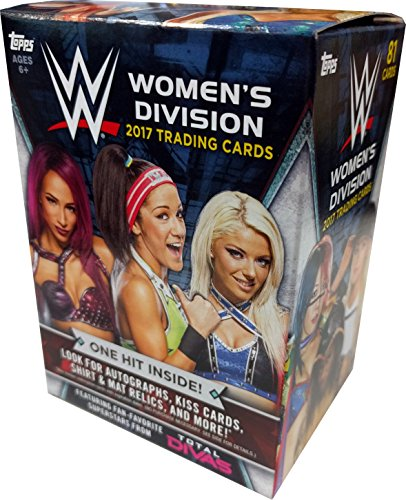 (2017 Topps Wrestling Cards WWE Womens Evolution Value Box - Includes 100 Cards +50 Current Roster Superstars)