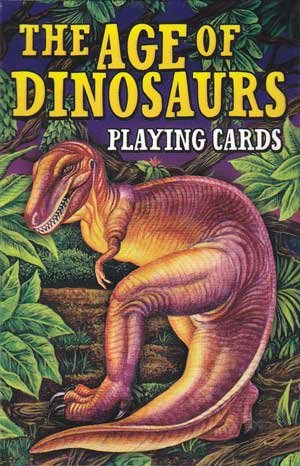 New Age Age of Dinosaurs Playing - Reptile Playing Cards