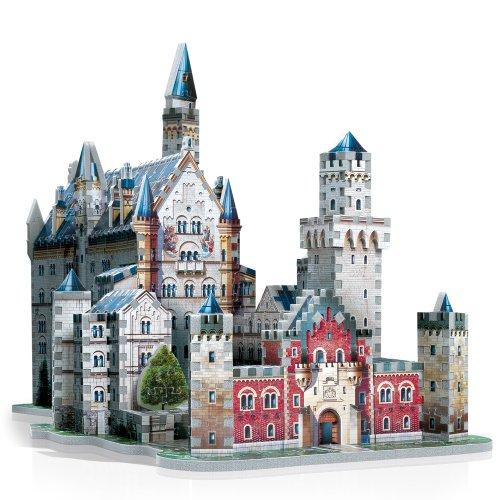 original 3d crystal puzzle castle instructions