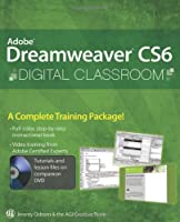Adobe Dreamweaver CS6 Digital Classroom Front Cover