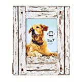 PRINZ Homestead Distressed Wood Frame, 5 by 7-Inch, White Review