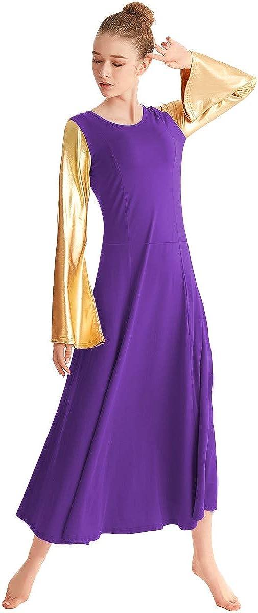 Amazon.com: MYRISAM - Vestido de baile de manga larga para ...