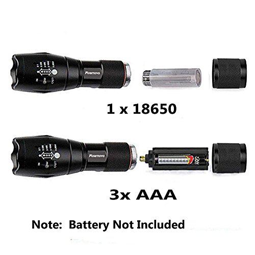 tactical led flashlight torch high powered tac light as seen on tv with 5 mo. Black Bedroom Furniture Sets. Home Design Ideas