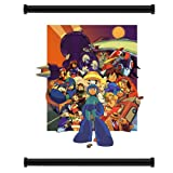 Mega Man Game Fabric Wall Scroll Poster (32