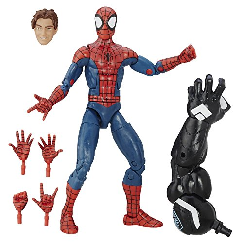 Super Hero Spider-Man Peter Parker 6-Inch Hero Series Action Figures Toys (Marvel Classic Hulk Costume Kit)