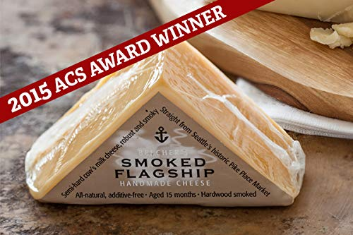 Beecher's Handmade Cheese - Smoked Flagship - Authentic, All-Natural and Additive Free (10-pack, 7 oz each)