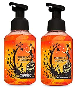 """Bath and Body Works Purrfect Pumpkin Gentle Foaming Hand Soap - Pair of 2"""