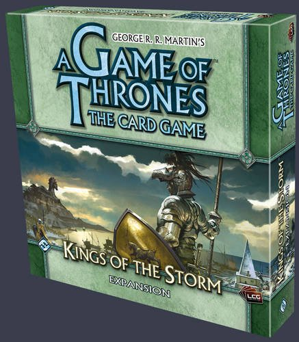 A Game of Thrones LCG: Kings of The Storm Expansion (Game Of Thrones King)