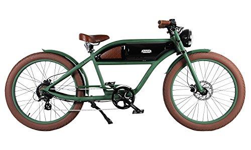- Michael Blast T4B Greaser Retro Style Electric Bike - 26