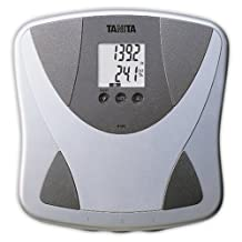 Tanita BF-680W Duo Scale Plus Body Fat Monitor with Athletic Mode and Body Water