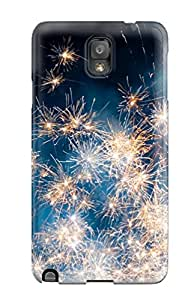 New DGoLUzn1738TeHFF Fireworks Skin Case Cover Shatterproof Case For Galaxy Note 3