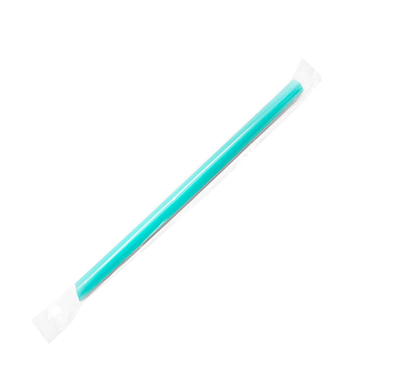 Karat C9060s 9'' Boba Straws(10mm Diameter), Poly-Wrapped, Assorted Solid Colors (Case of 1600)