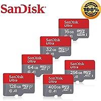 Cartão de Memória MicroSDXC 128GB Sandisk 100mb/s A1 classe 10 Smartphone Tablet Gopro Drone Camera