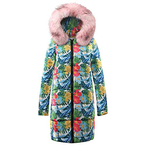 Forthery Women's Warm Winter Thickened Puffer Full Length