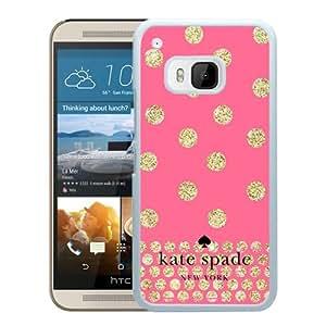 Unique Designed Kate Spade Cover Case For HTC ONE M9 White Phone Case 124