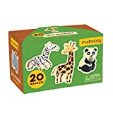Mudpuppy Zoo Animals Box of Magnets