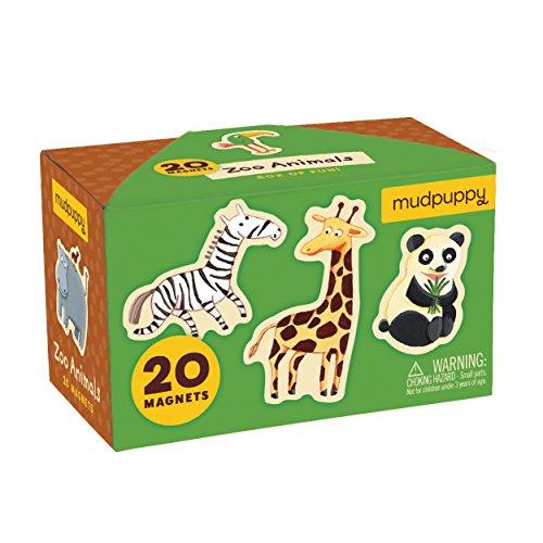 Mudpuppy Zoo Animals Box Magnets product image