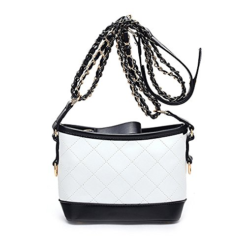 Female Simple Gwqgz Rhomge Cross Temperament Package Single Bag Shoulder Chain Oblique AqI6wS