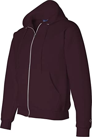b07c684f Champion Men's Eco Full-Zipper Fleece Hooded Sweatshirt at Amazon ...