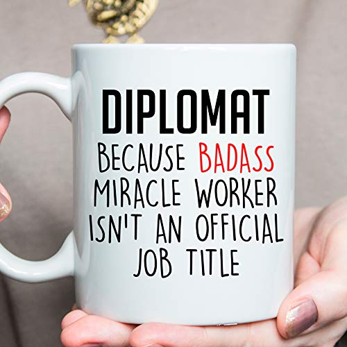 Diplomat Gift Ideas Best Diplomat Ever Diplomat Mug Xmas Gift For Diplomat O606 Gift for Diplomat
