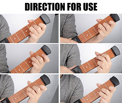 Amazon Pocket Guitar Practice Tool Portable Chord Trainer