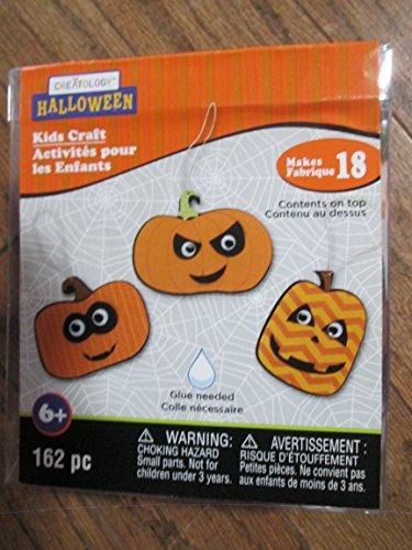 Creatology Pumpkin scratch art 18 kits per pkg -