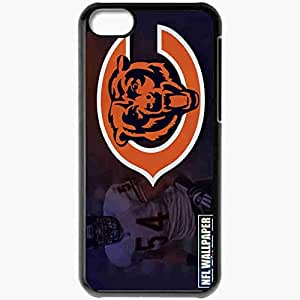 Personalized iPhone 5C Cell phone Case/Cover Skin 14622 chicagobearswallpaper 1440 Black