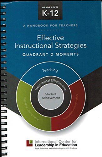 Effective Instructional Strategies - Quadrant d Moments