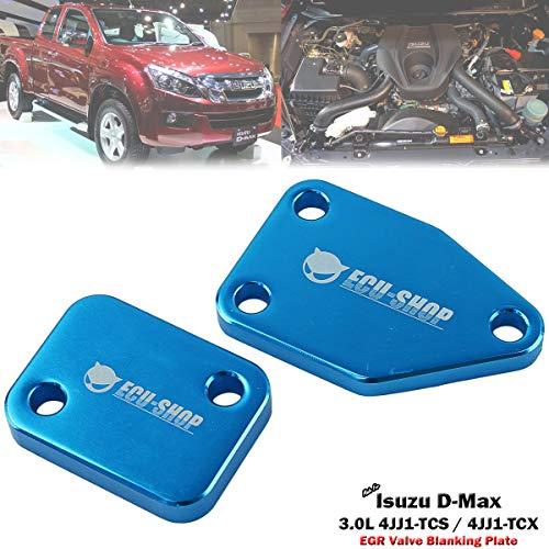EGR Block Blanking Plate Set For Isuzu D-Max Pickup 3.0L 4JJ1 Diesel 2012-ON