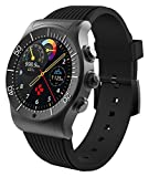 MYKRONOZ ZeSport 1.3' Negro Reloj Inteligente - Relojes Inteligentes (3.3 cm (1.3'), Pantalla táctil, 128 GB, 70 g, Negro)