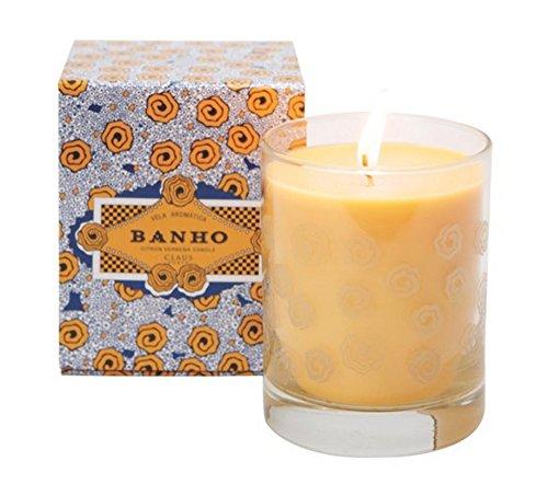 Ounce Candle 10.5 - Claus Porto Banho Citron Verbena Candle 10.5 oz