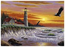 The Guiding Light 1000 Piece Puzzle featuring the Art of Michael Matherly