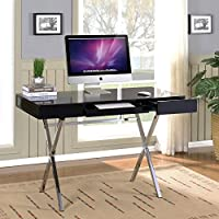 K&B Furniture 2 Drawer Computer Desk