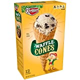 Keebler Ice Cream Cones, Waffle, 12 Count Box, 5