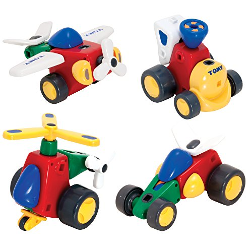 TOMY Constructables Motorized Building Vehicle (Motorized Vehicle)