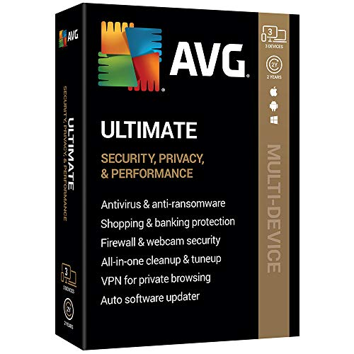 AVG Technologies AVG Ultimate 2020, 3 Devices 2 Year 2020