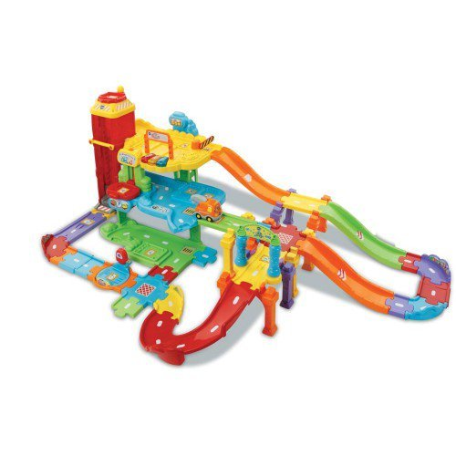 Tut Tut Welt Spiel-Set  Baby Flitzer - Parkgarage Deluxe