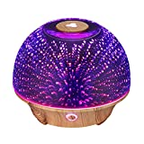 VicTsing Essential Oil Diffuser, 200ml 3D Effect Ultrasonic...