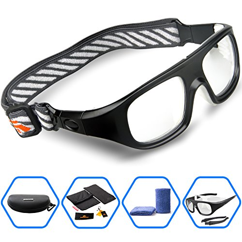 Ponosoon Sports Goggles Glasses for Basketball Football Volleyball Hockey 1824 - Volleyball Glasses