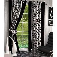 Srk Trendz 1 Piece Kolawari Polyester Eyelet Window Long Door Curtain