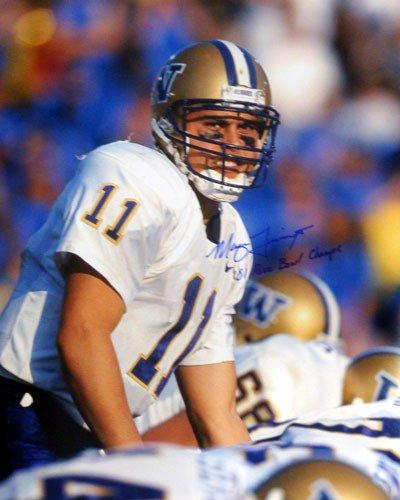 Marques Tuiasosopo Signed 16 x 20 Photo Washington Huskies Rose Bowl Champs - Autographed NCAA College Football Photos (Washington Huskies Bowl Rose)