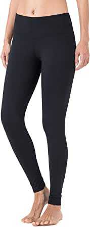 qualidyne Yoga Pants for Women High Waist Yoga Leggings, 4-Way Stretch Fleece Lined Thermal Tights for Workout Running Yoga