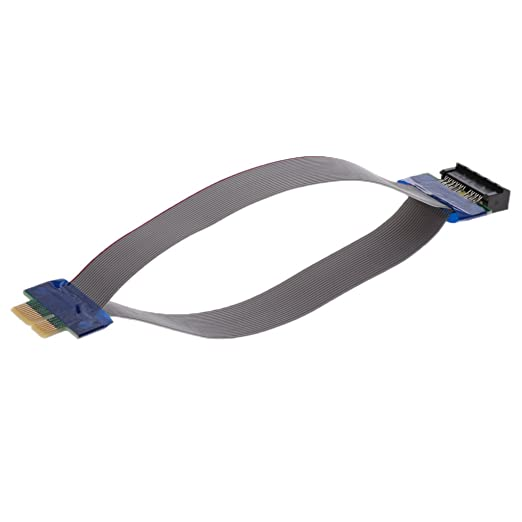 MagiDeal Pci-e 1x Cable Prolongador de Tarjeta de Expansión ...