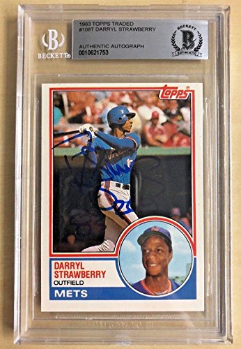 Darryl Strawberry Signed