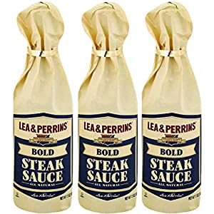 Well-Being-Matters 51uj0p0lPbL._SS300_ Lea & Perrins Bold Steak Sauce 12 Oz (Pack of 3)