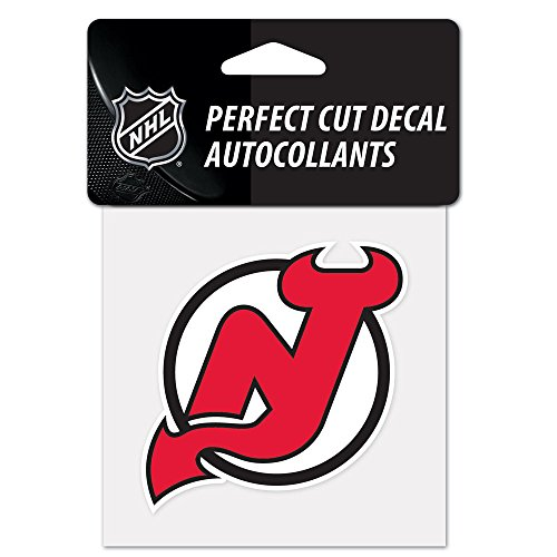 NHL New Jersey Devils Perfect Cut Color Decal, 4' x 4'