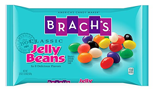 Brach's Classic Jelly Beans Candy, Assorted Flavors, 22 Ounces